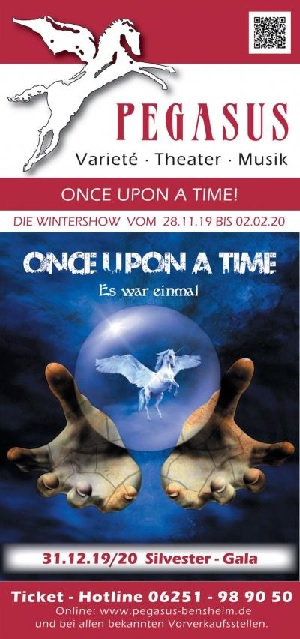Magic Colors – Wintershow im Varieté Pegasus